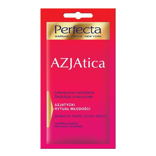 Perfecta Azjatica Maska na twarz szyję i dekolt 8ml