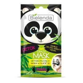 Maska detoksykująca w płacie 3D Panda