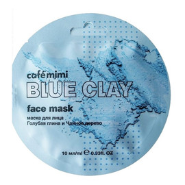 Maseczka do twarzy Niebieska glinka i drzewo herbaciane
