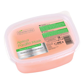 Apricot Paraffin Mask Beeswax & Macadamia Oil morelowa maska parafinowa