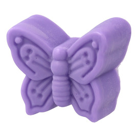 Mydło glicerynowe w kostce Motylek fioletowy