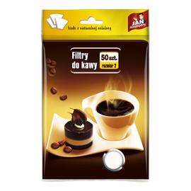 Filtry do kawy 50 szt. rozmiar 2