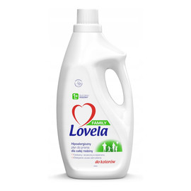 Family hipoalergiczny płyn do prania dla całej rodziny do kolorów 1.85l