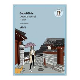 Seoul Girl's Beauty Mask Moisturizing Care nawilżająca maska w płacie