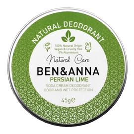 naturalny dezodorant w kremie w aluminiowej puszce Persian Lime