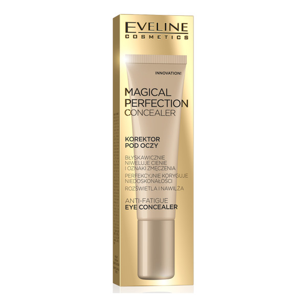 Eveline Magical Perfection korektor pod oczy niwelujący cienie i oznaki zmęczenia 15ml