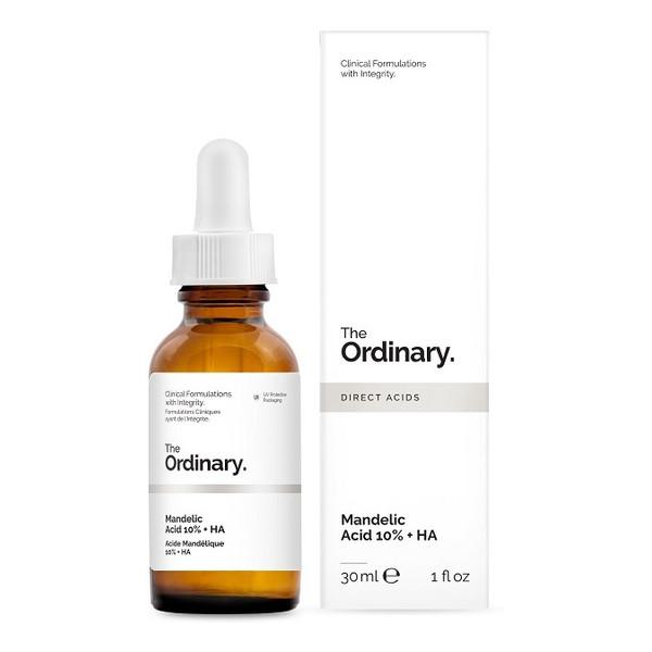 The Ordinary Mandelic Acid 10% + HA, Peeling z kwasem migdałowym i hialuronowym 30ml