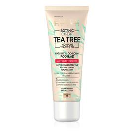 Tea Tree Foundation matujący ochronny podkład antybakteryjny