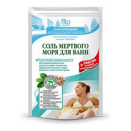 Sól do kąpieli z Morza Martwego wzmocnienie odporności