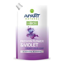 kremowe mydło w płynie Passion Flower & Violet uzupełnienie