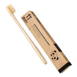 Bambusowa szczoteczka do zębów beżowa