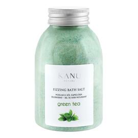 Fizzing bath salt sól musująca do kąpieli zielona herbata