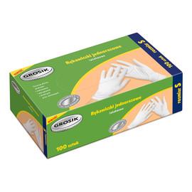 Rękawiczki lateksowe S/100szt
