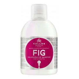 szampon z wyciągiem z fig do włosów cienkich i pozbawionych blasku