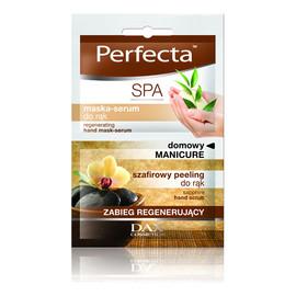 Manicure Domowy: Szafirowy Peeling + Regenerująca Maska-Serum Do Rąk