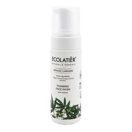 Organic Cannabis Pianka do mycia twarzy