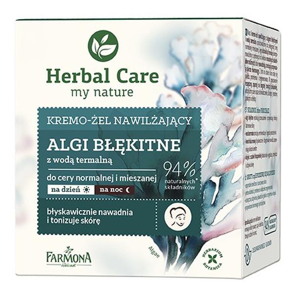 Farmona Herbal Care Krem-żel nawilżający na dzień i noc Algi Błękitne 50ml