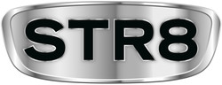 STR8 logo