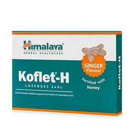 Healthcare Koflet-H suplement diety wspierający układ oddechowy Imbir 12 pastylek