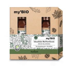 Zestaw prezentowy Islandzkie BioNawilżenie (żel pod prysznic 500ml+balsam do ciała 400ml)