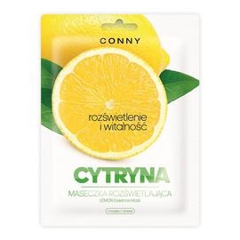 Lemon Essence Mask rozświetlająca maseczka w płachcie Cytryna