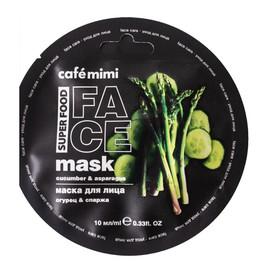 Maska do twarzy Ogórek i Szparagi