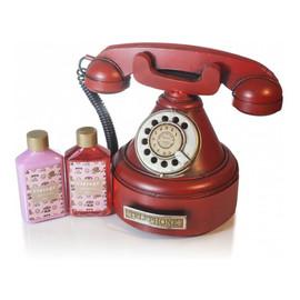 Vintage Red Telephone zestaw balsam do ciała 85ml + żel pod prysznic