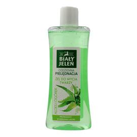 Żel do mycia twarzy Aloes i Ogórek