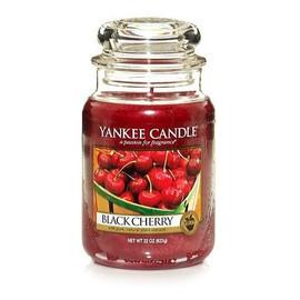 Duża świeczka zapachowa Black Cherry