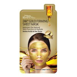24K Gold Firming Sheet Mask ujędrniająca maseczka w płachcie z 24K złotem