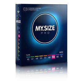 Condoms prezerwatywy 64mm 3szt