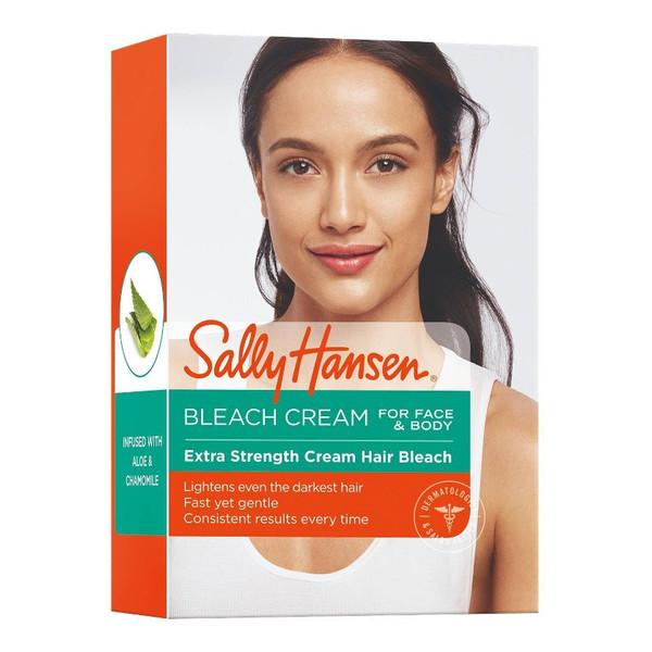 Sally Hansen Creme Hair Bleach Rozjaśniacz Włosków Twarzy i Ciała