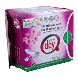 Pantiliners With Far-IR Anion Strip wkładki higieniczne z paskiem anionowym pochłaniające wilgoć eco 20szt