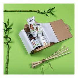 Zestaw Bambus i trawa cytrynowa żel pod prysznic 400ml + balsam do ciała 200ml + krem do rąk 75ml + dezodorant w kulce