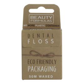 Eco friendly dental floss ekologiczna woskowana nić dentystyczna 50m