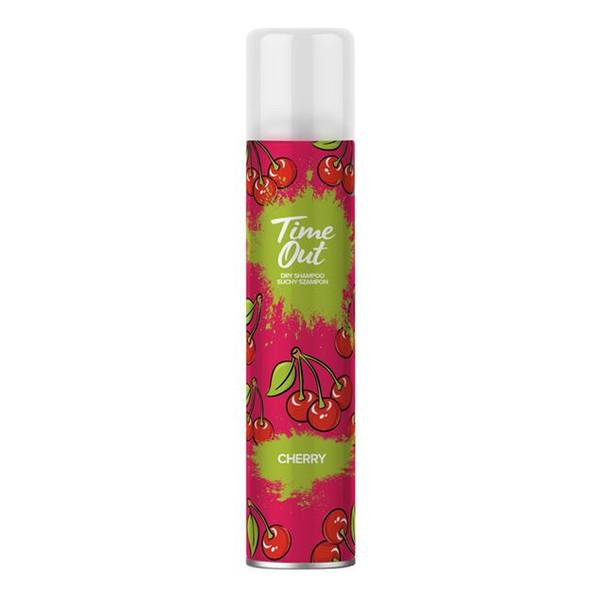TIME OUT Suchy szampon do włosów cherry 200ml