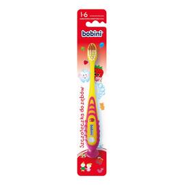 Szczoteczka do zębów dla dzieci 1-6 lat