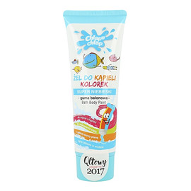Bath Body Paint Żel Do Kąpieli Kolorek Super Niebieski O Zapachu Gumy Balonowej