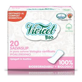 Wkładki Higieniczne Składane Z Organicznej Bawełny Niebielone Chlorem Kompostowalne 20szt