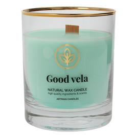 Świeca zapachowa z drewnianym knotem Good Vela 1szt