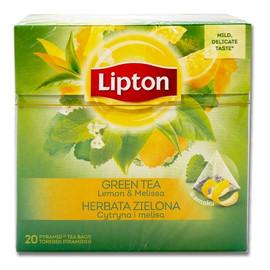 herbata zielona Cytryna i Melisa 20 torebek