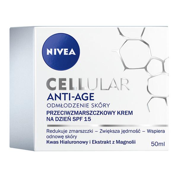 Nivea Cellular Anty-Age Krem przeciwzmarszczkowy na dzień 50ml