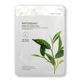 Antioxidant green tea essence mask antyoksydacyjna maseczka do twarzy zielona herbata