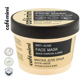 ANTI-ACNE Maska do twarzy Czarny węgiel i anyż