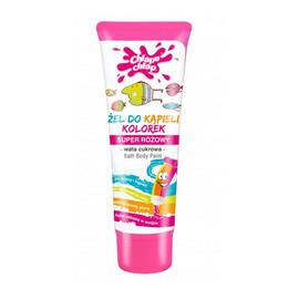 Bath Body Paint Żel Do Kąpieli Kolorek Super Różowy O Zapachu Waty Cukrowej