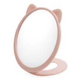 Lusterko kosmetyczne jednostronne kotek 16cm 4535