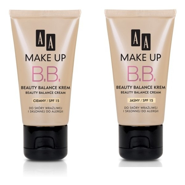 AA Beauty Balance Make Up Krem Upiekększający 30ml