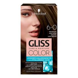 Krem koloryzujący do włosów 6-0 naturalny jasny brąz