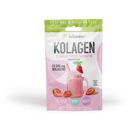 Kolagen o smaku truskawkowym suplement diety