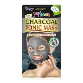 Tonic Mask oczyszczająca maseczka węglowa w płachcie do każdego typu cery Green Tea